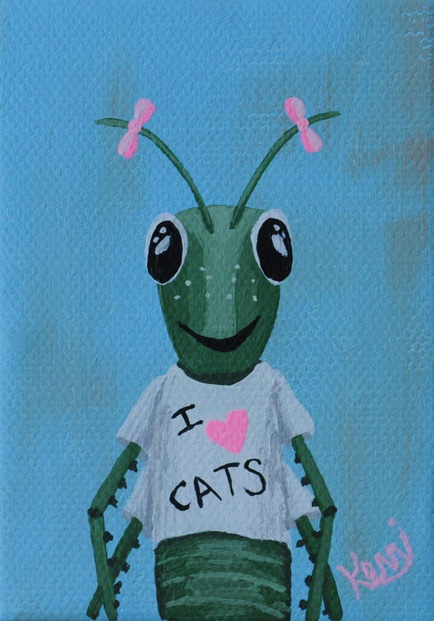 Gigi The Grasshoppers School Picture Painting