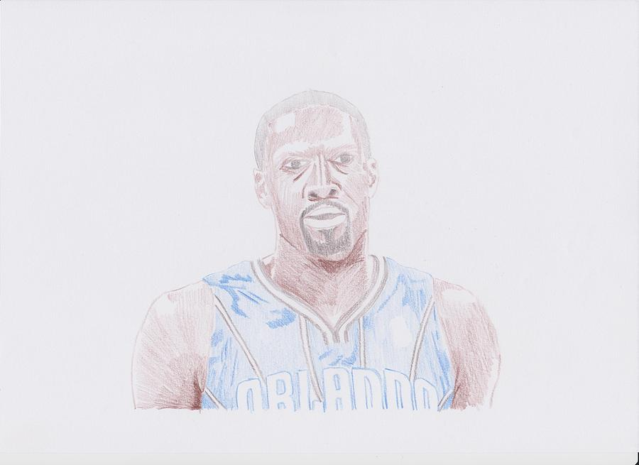 Gilbert Arenas Drawing  - Gilbert Arenas Fine Art Print