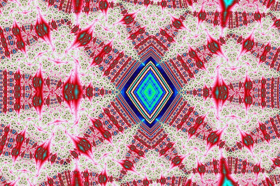 Abstract Digital Art - Gimcrack by Mark Eggleston
