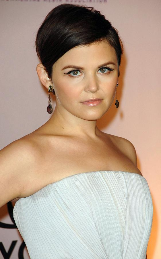 Ginnifer Goodwin At Arrivals For 2009 Photograph  - Ginnifer Goodwin At Arrivals For 2009 Fine Art Print