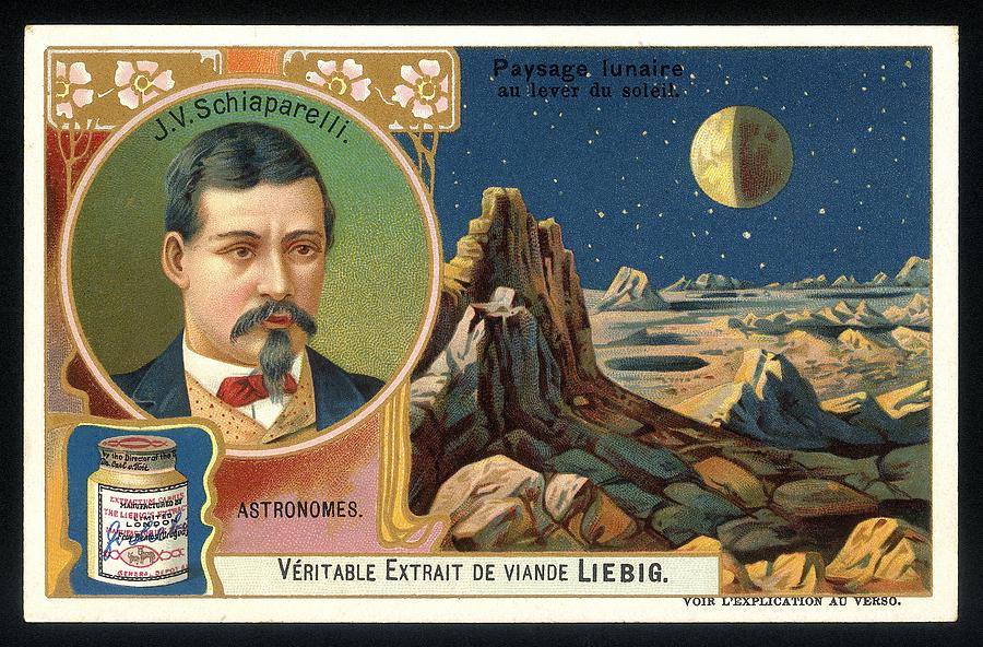 Giovanni Schiaparelli Lunar Advert Photograph