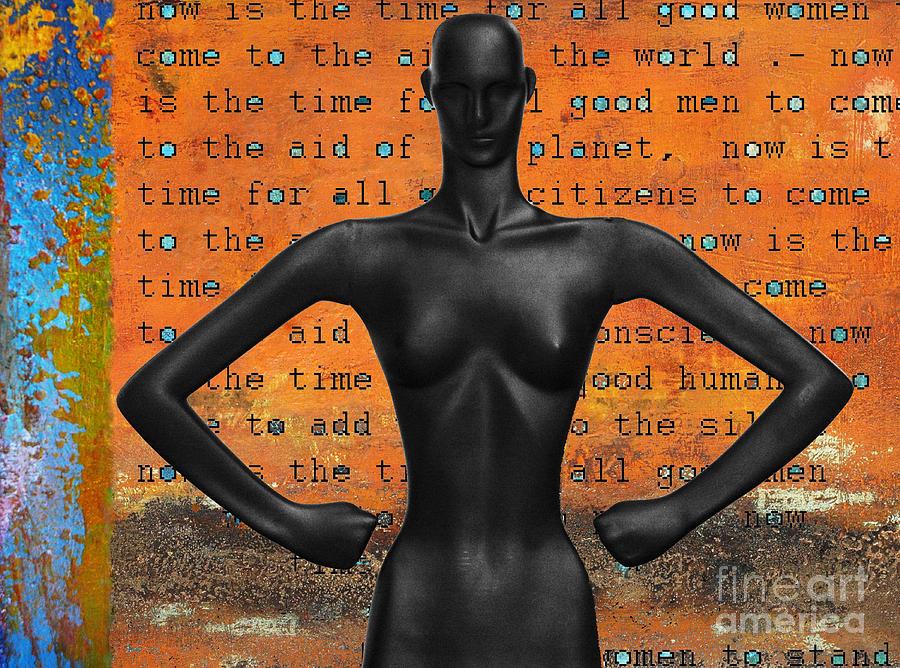 Girl Power Digital Art