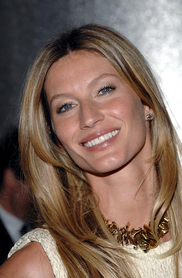 Gisele Bundchen In Attendance For The Photograph