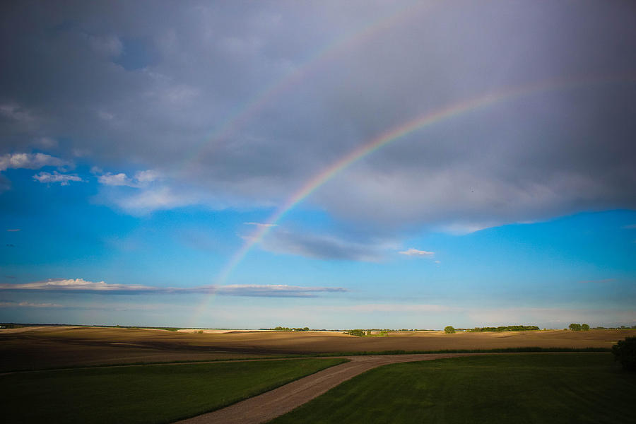Rainbow Photograph - Give Me A Double by Christy Patino