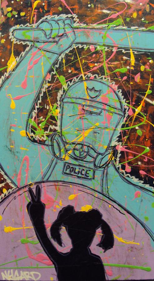 Give Peace A Chance Painting