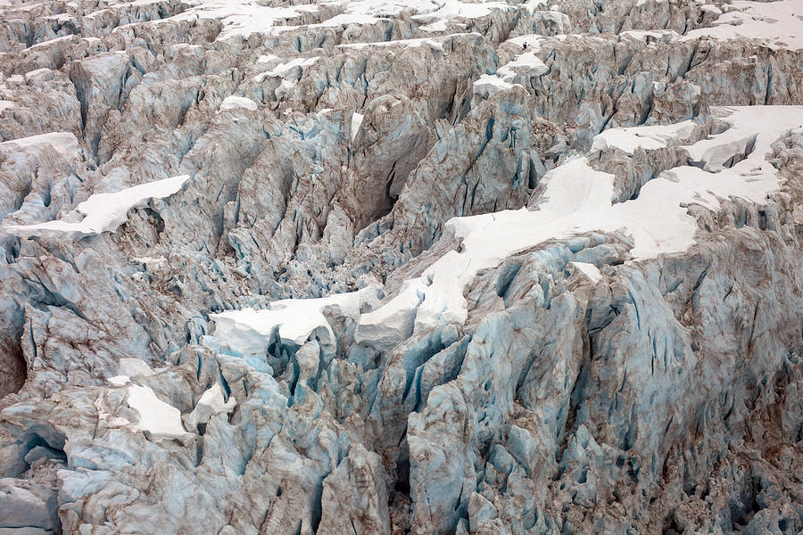 Glacial Crevasses Photograph