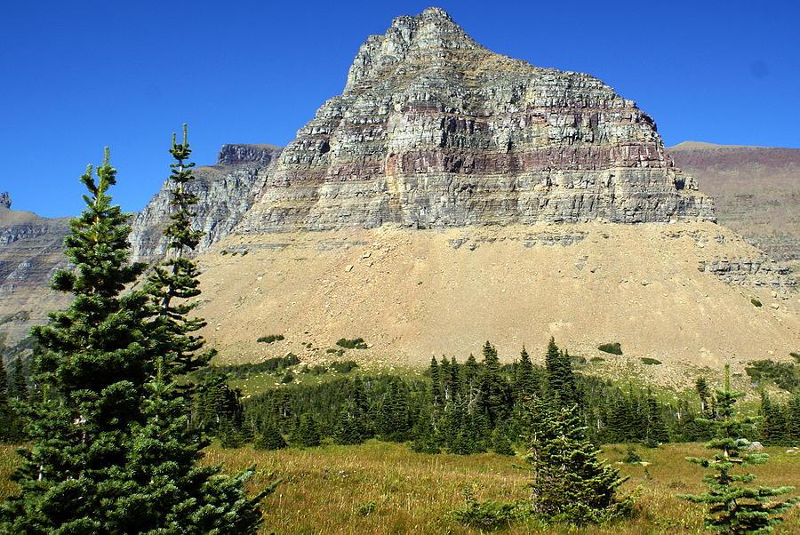 Glacial Mountains Photograph