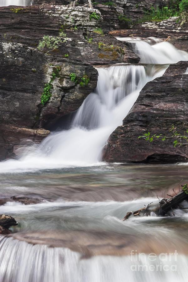 Glacial Waterfalls Photograph