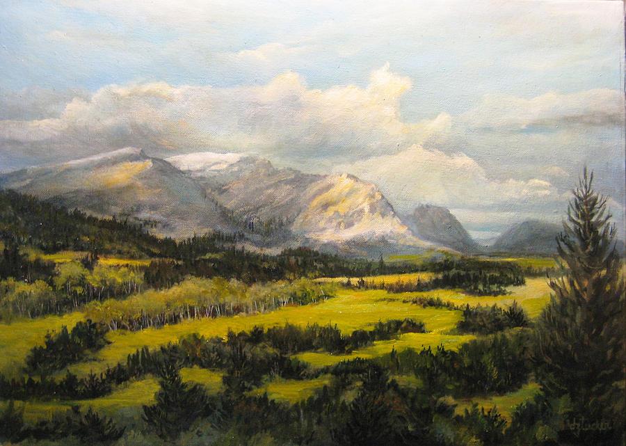 Glacier Splendor Painting