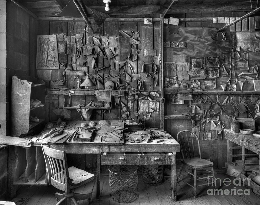 Gladding Mcbean Engineers Room Photograph  - Gladding Mcbean Engineers Room Fine Art Print