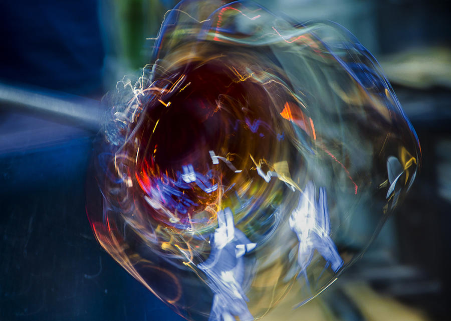 Glass In Motion Photograph