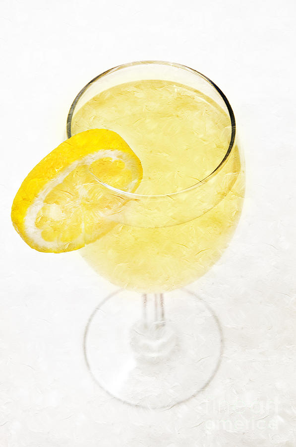 Glass-of-lemonade Photograph - Glass Of Lemonade by Andee Design