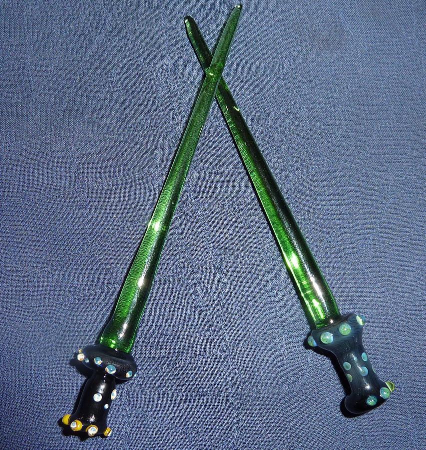 Glass Saber Dabber Glass Art
