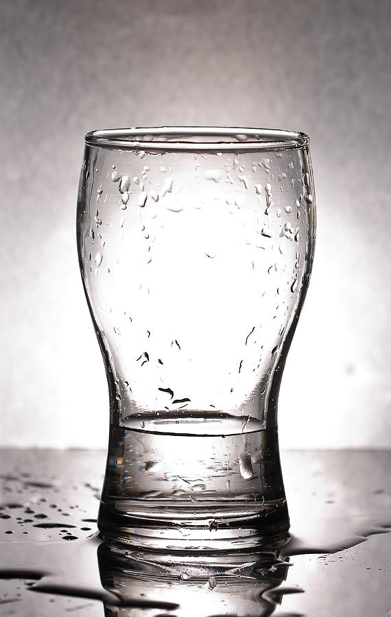Glass With Water  Photograph