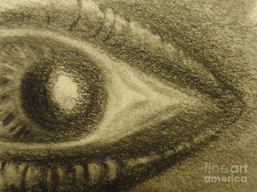 Glassy Eye Drawing
