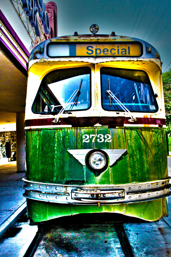 Glen Echo Trolley Photograph  - Glen Echo Trolley Fine Art Print