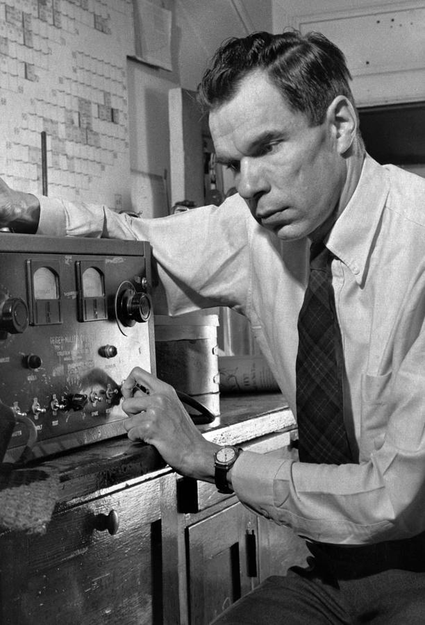 Glenn Seaborg 1912-1999, Won The 1951 Photograph