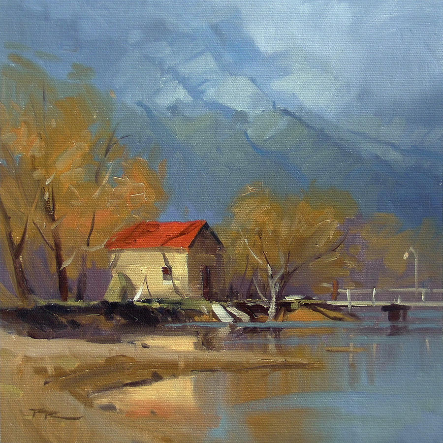 Glenorchy Painting - Glenorchy by Richard Robinson