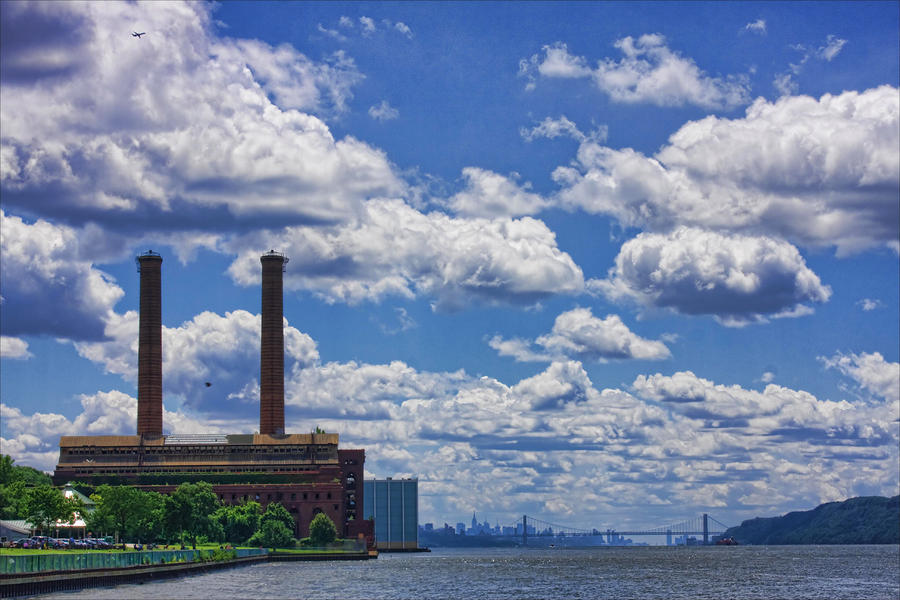 The Abandoned Yonkers Power Station Glenwood-power-plant-on-hudson-river-june-marie-sobrito