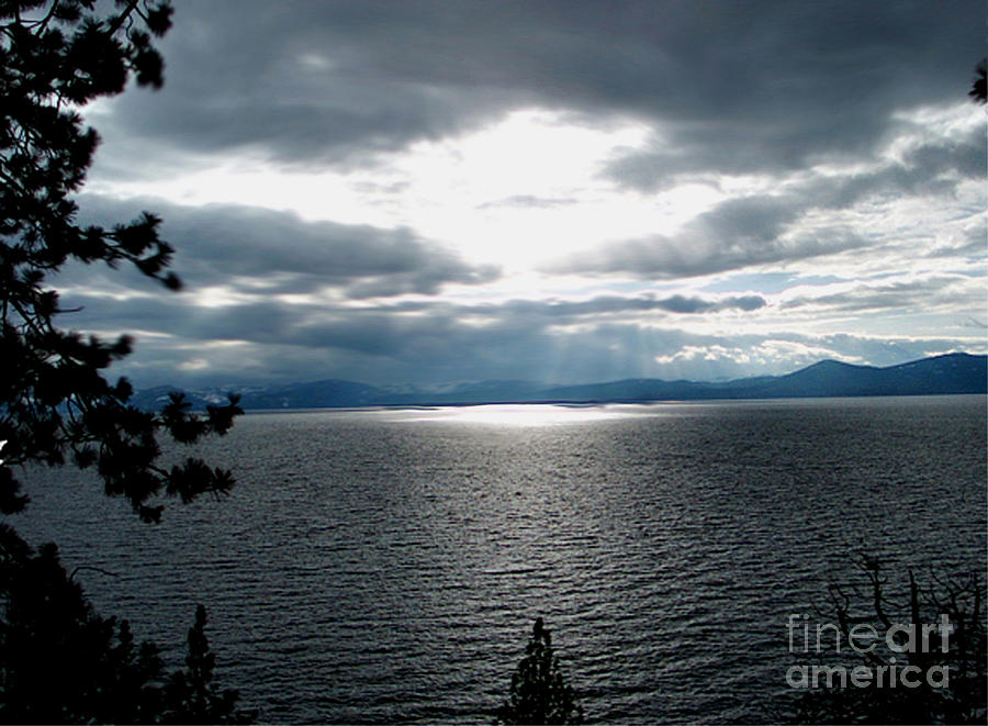 Glistening Lake  Photograph