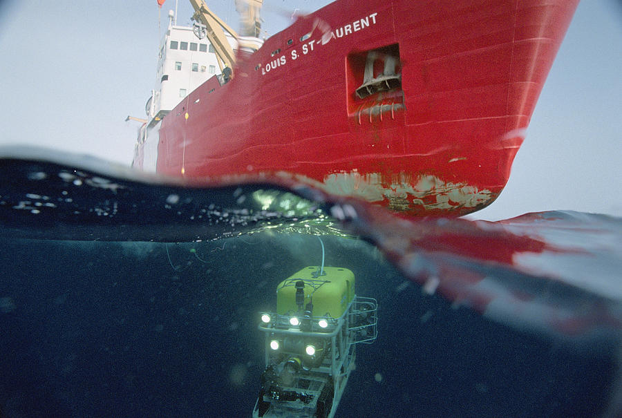 Global Explorer, An Rov Capable Photograph  - Global Explorer, An Rov Capable Fine Art Print