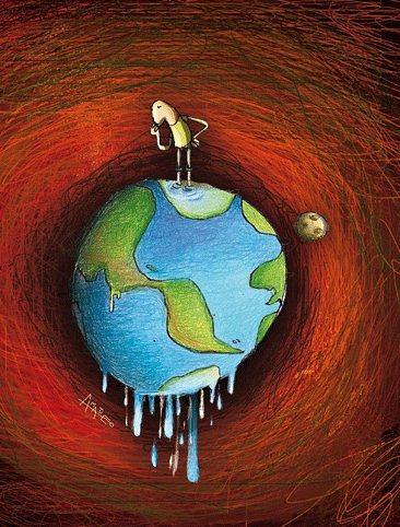 Des simulations révèlent qu'un réchauffement de 3 degrés est possible