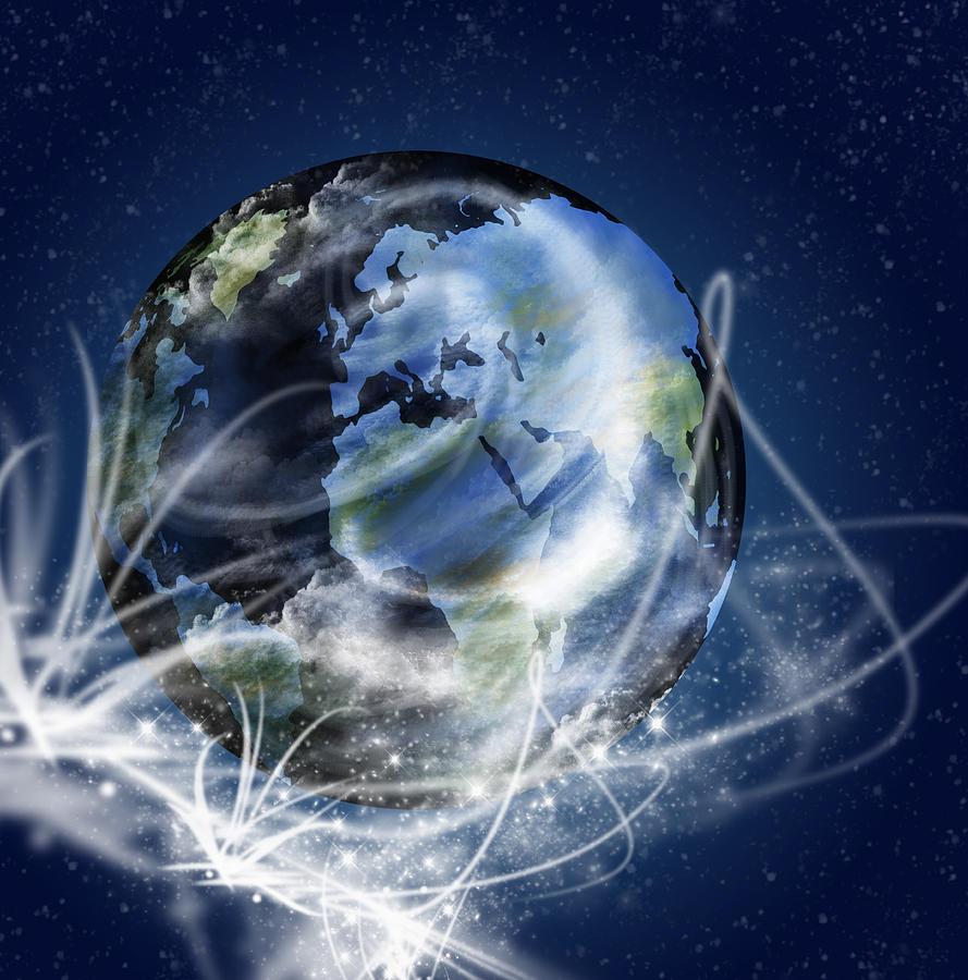 Globe Photograph