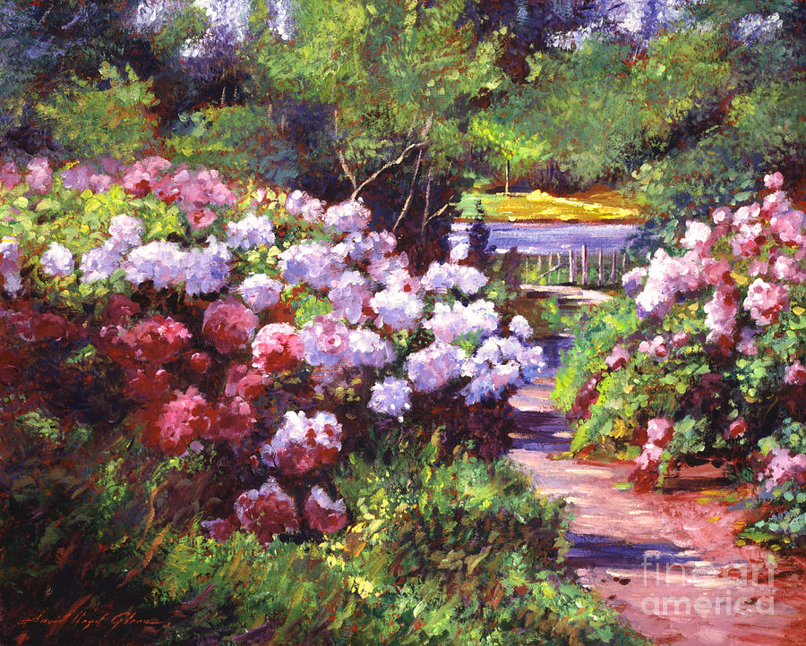 Glorious Blooms Painting