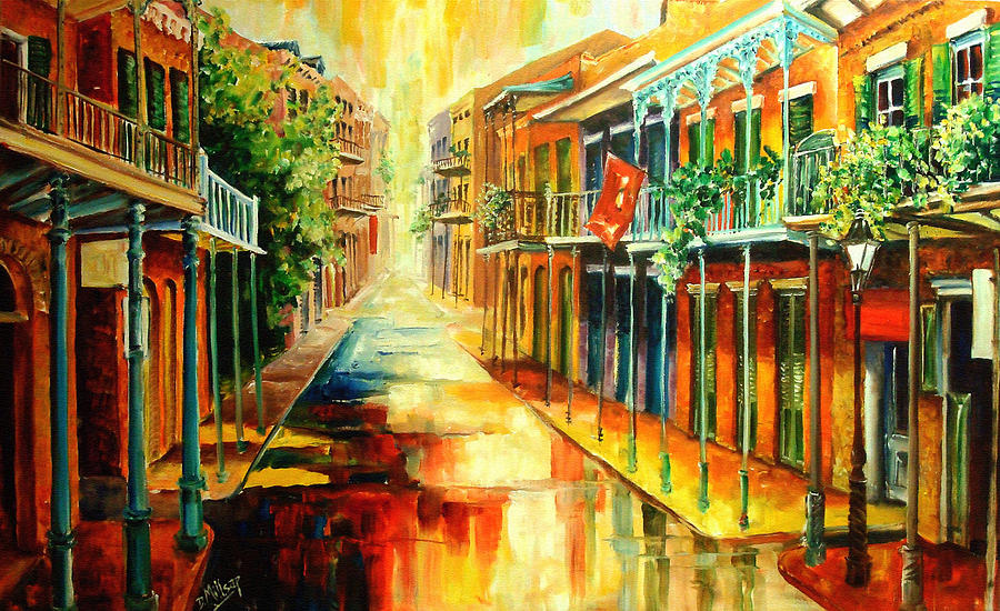 Glorious French Quarter Painting  - Glorious French Quarter Fine Art Print