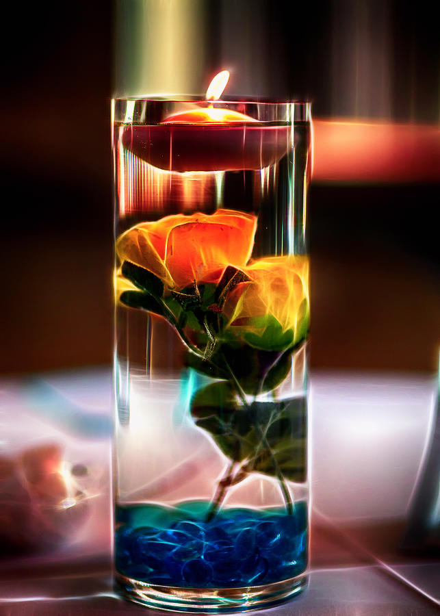 Glowing Centerpiece Photograph  - Glowing Centerpiece Fine Art Print