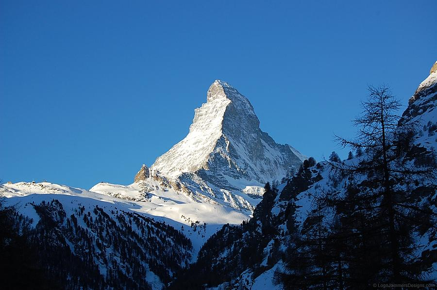 Glowing Matterhorn Photograph