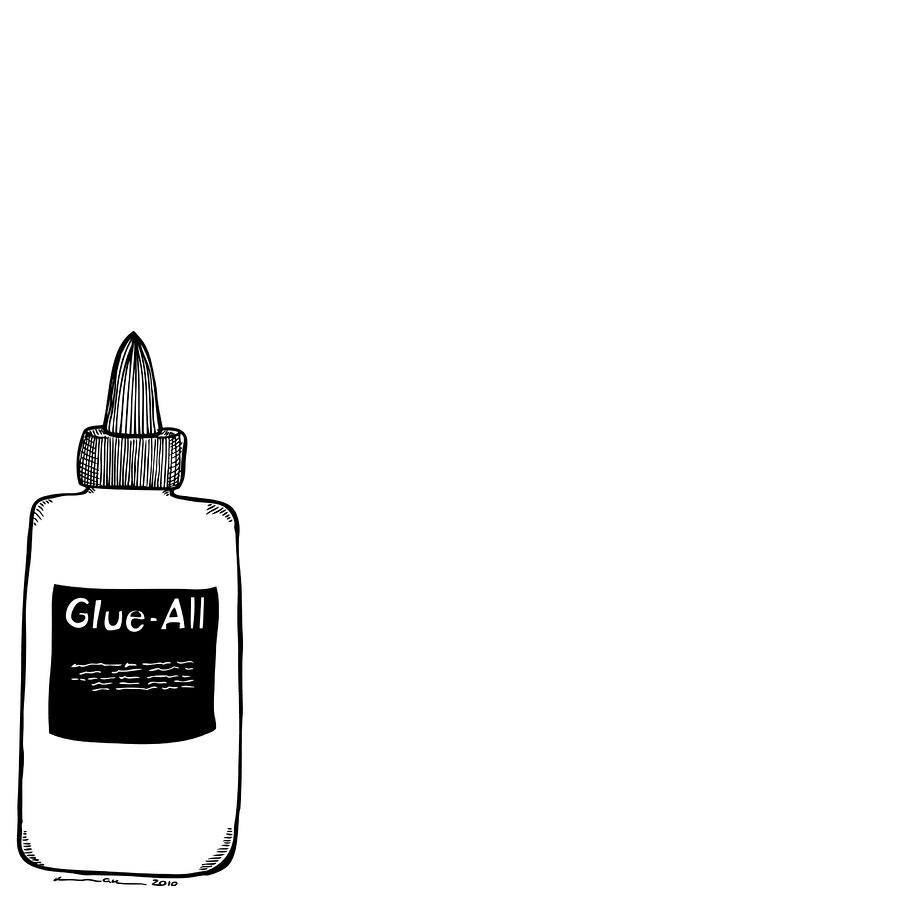 How to draw ink bottle