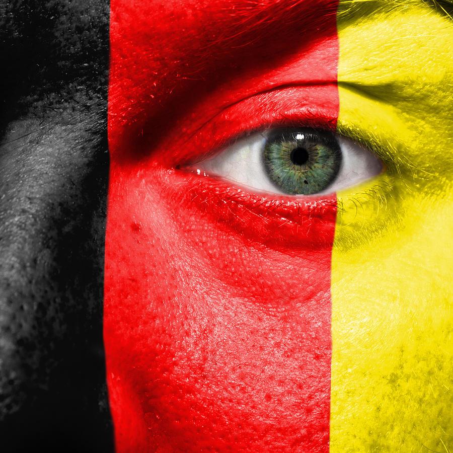 2012 Photograph - Go Belgium by Semmick Photo