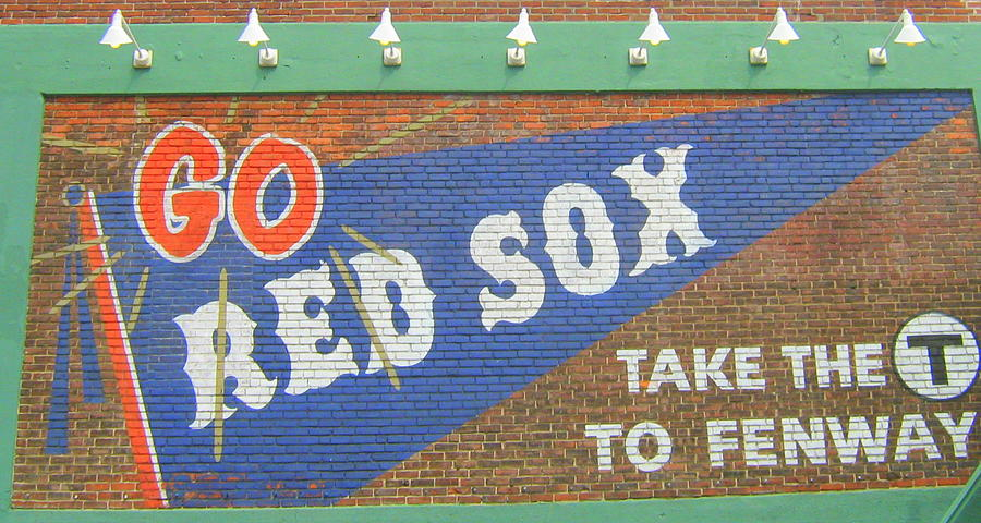 Mural Photograph - Go Sox by Bruce Carpenter