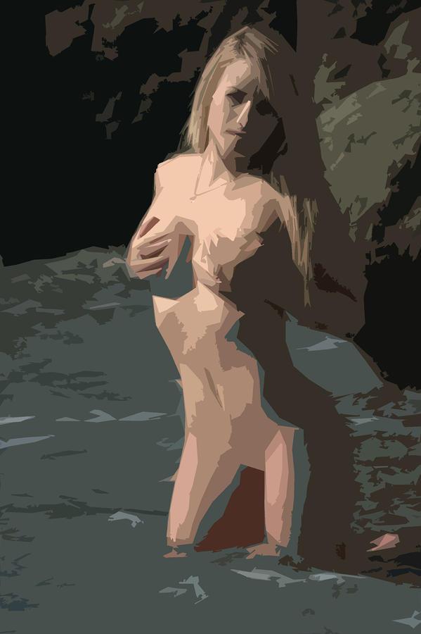 Goddess Of Water Photograph