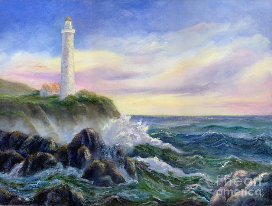 Lighthouse art | Etsy