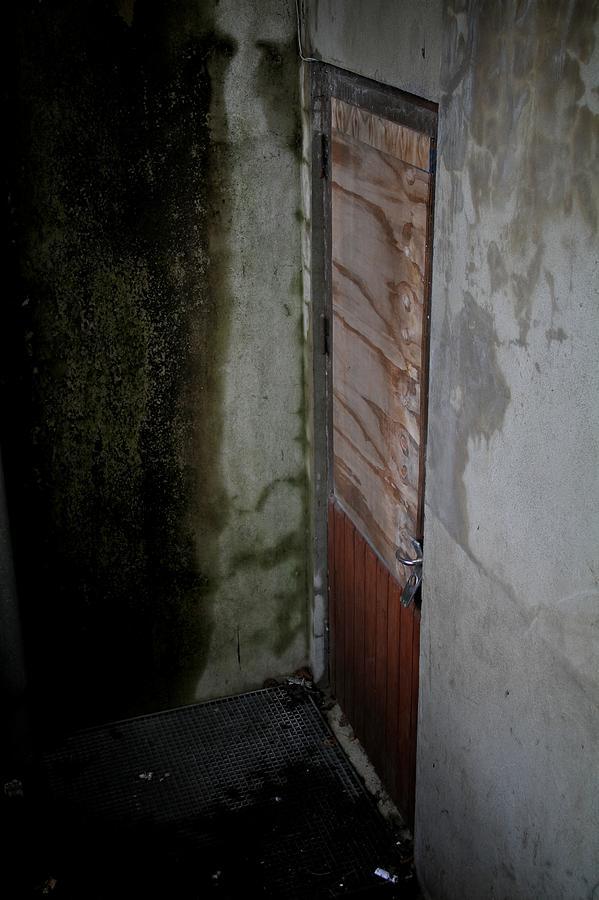 Door Photograph - Going Down by Odd Jeppesen