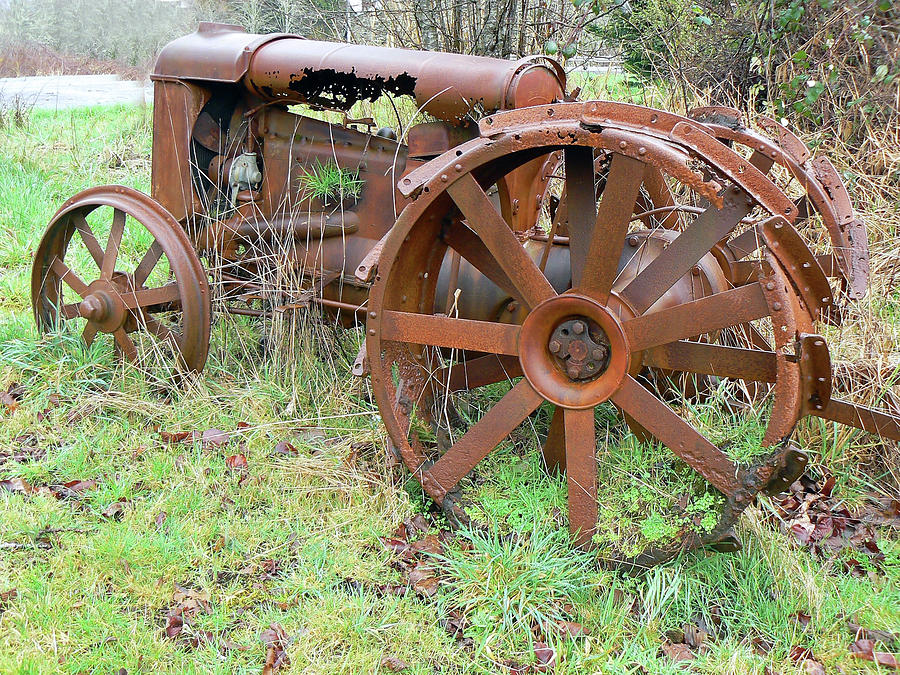 Going Green With Fordson  Photograph