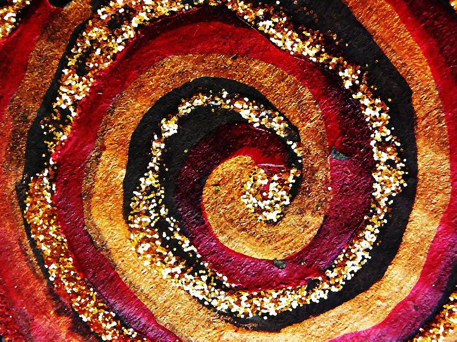 Gold And Glitter 55 Photograph  - Gold And Glitter 55 Fine Art Print