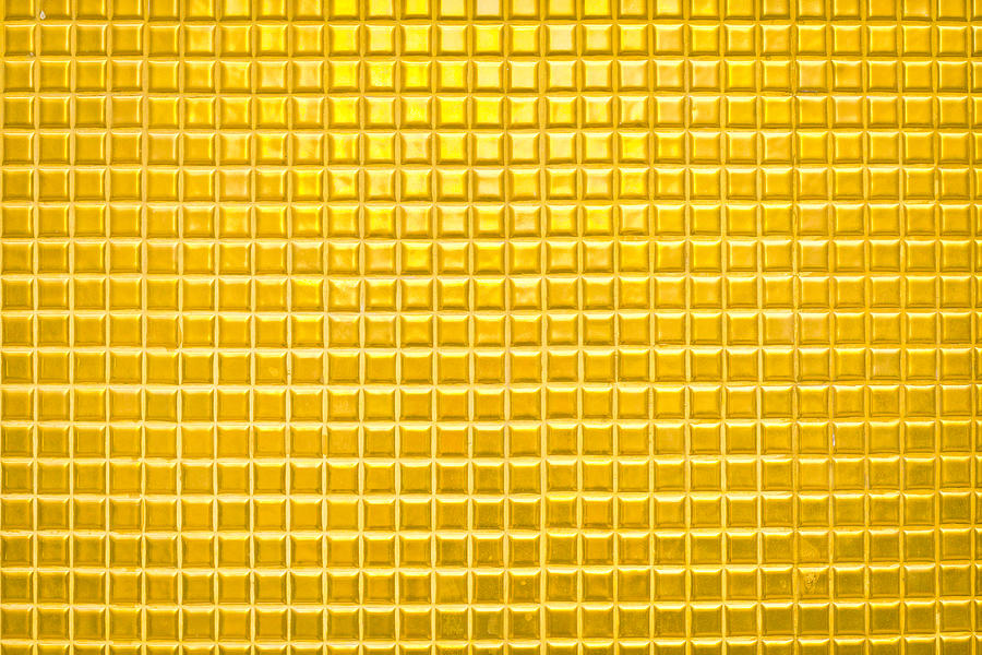 Abstract Photograph - Gold Background by Tom Gowanlock