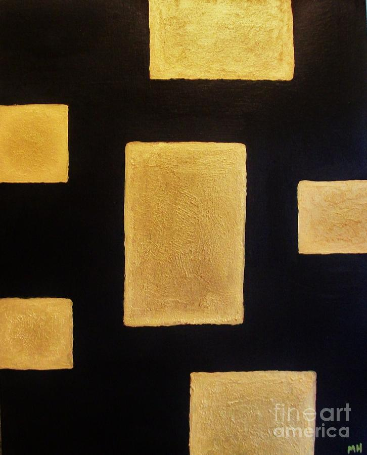 Gold Bars Painting