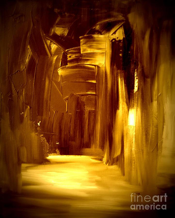Golden Future Painting