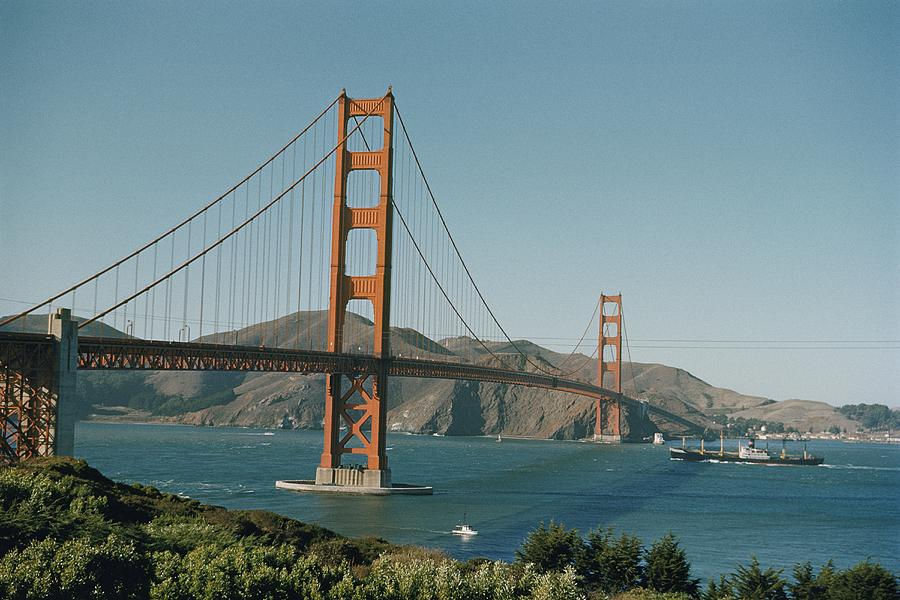 Golden Gate Bridge As Seen Photograph  - Golden Gate Bridge As Seen Fine Art Print