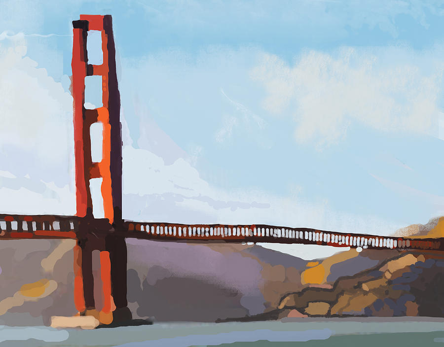 Golden Gate Three Painting