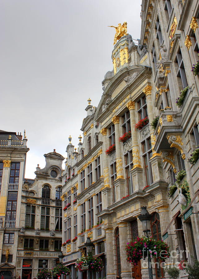 Golden Grand Place Photograph