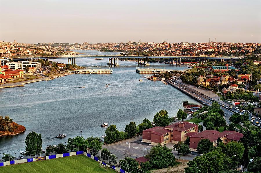 Golden Horn, Istanbul Photograph