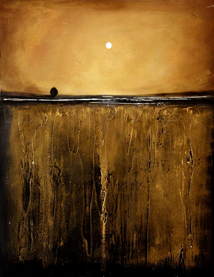 Golden Inspirations Painting  - Golden Inspirations Fine Art Print