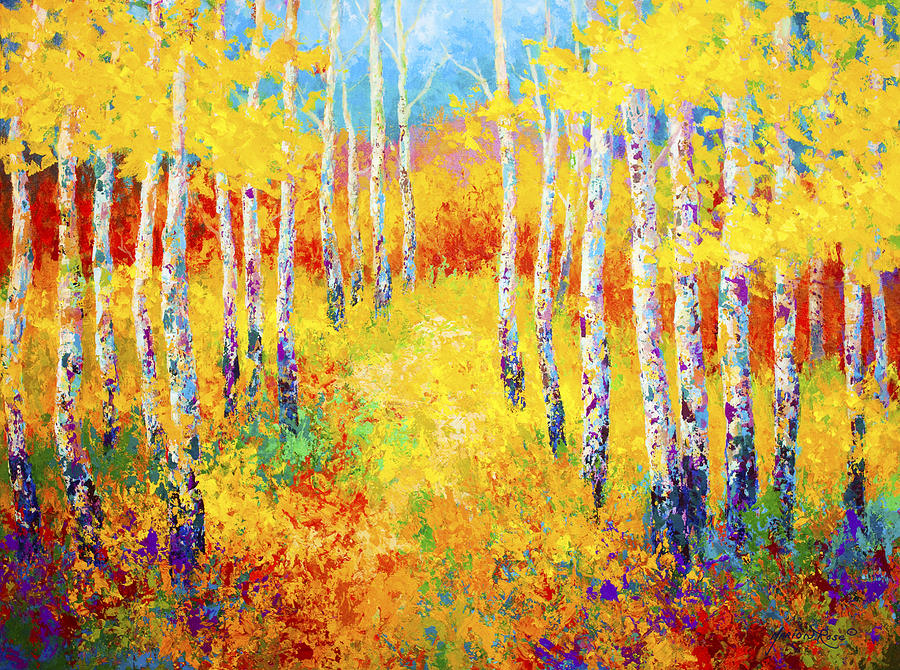 Golden Path Painting