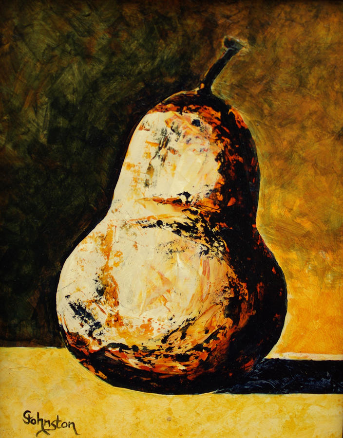 Golden Pear Painting
