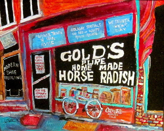 Golds Horseradish Painting